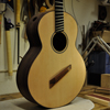 Ceder and indian rosewood multiscale guitar